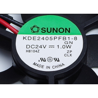 SUNON建准 KDE2405PFB1-8 DC24V 1.0W 5010 5CM变频器风扇