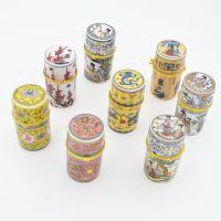 创意景区旅游纪念品 陶瓷牙签盒 工艺品牙签盒家居新奇特小摆件