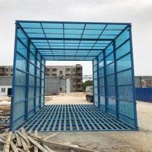 郑州诺瑞捷定做各种型号全密闭工地自动冲洗设备,信阳工地车辆100%冲洗设备厂家