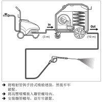 德国凯驰卡赫HG43 冷水高压清洗机转热水加热器 热水清洗机除油污