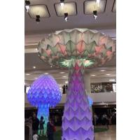 青和文化艺术互动装置 LED七彩变形发光蘑菇树 活动暖场道具