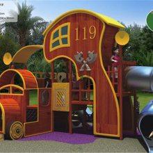 幼儿园非标定制游乐设备儿童木质组合滑梯不锈钢组合滑梯室外亲子乐园文旅非标定制可加工定做