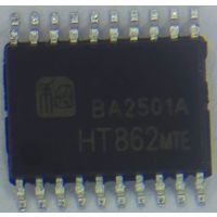 HT862内置自适应同步升压/AGC/限温功能8W单声道智能音频功率放大器