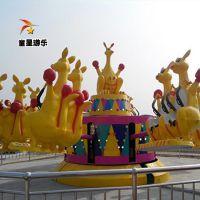 十一热销公园游乐设备欢乐袋鼠跳商丘童星游乐厂家款式多样
