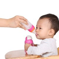 FaSoLa米糊奶瓶挤压式婴儿喂养勺硅胶辅食米粉软勺子喂食器迷糊