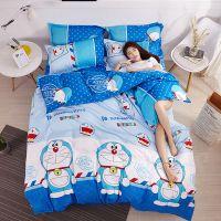 儿童四件套全棉男孩全棉被套床单人1.2米女孩卡通三件套床上用品