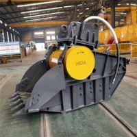 直销卡特200 挖机抓木器机械 木柴厂用360度旋转可定做现货