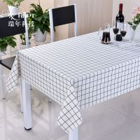 RNPU瑞年 厂家供应酒店餐厅家用餐桌布pvc防水桌布茶几台布