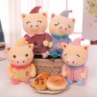 新款可爱卡通梦幻小丑猪毛绒玩具小猪抱枕儿童女生礼物代发直销