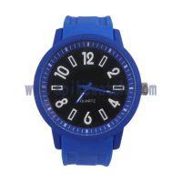 厂家批发SPIKE新款大尺寸硅胶时尚石英手表