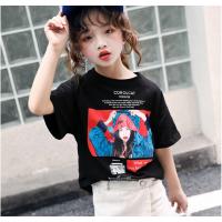 夏季短袖批发儿童短T纯棉T恤男女童装上衣卡通可爱纯棉套装厂家直销