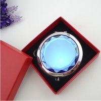 厂家现货批发 高档化妆镜礼盒镜子包装盒大红色礼品盒小圆镜盒子