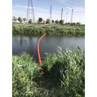 水面塑料拦污漂拦截水库漂浮物设备厂家