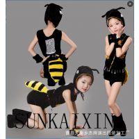 新款儿童蚂蚁舞蹈服表演服,儿童动物演出服,六一儿童节表演服装