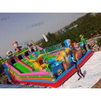 滑梯实拍图,质量好一点的充气城堡厂家 甘肃庆阳游乐厂家