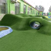 围挡草皮网 工地绿化网 建筑草皮工程