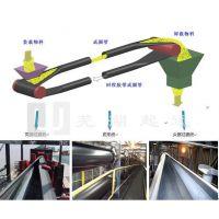 管状皮带机避免洒料 移动式
