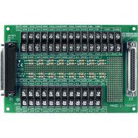 泓格37针电缆连接的螺孔安装端子板DB-1825
