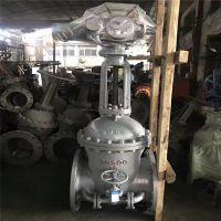山西矿用电动铸钢闸阀 Z941H-100C 高温高压蒸汽电动法兰闸阀 DN350