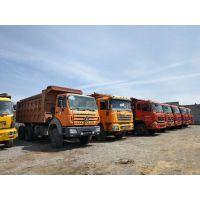 忻州二手欧曼后八轮工程自卸车厢式货车18吨急售,车好价优