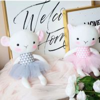 毛绒玩具羊公仔韩国萌布娃娃可爱玩偶睡觉抱枕女孩生日礼物女生
