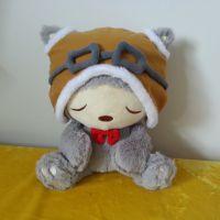厂家专业生产眼镜熊玩偶抱偶 小黄人毛绒玩具公仔