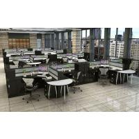 办公家具办公桌4人位创意职员办公桌子简约现代6人位屏风卡座组合