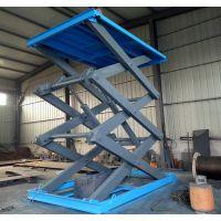 邢台升降货梯厂家定做1-6层导轨式液压升降平台