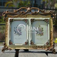 6寸欧式复古创意树脂相框 树脂工艺品 树脂摆件 新款影楼写真像框