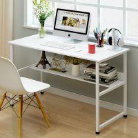 简约电脑台式桌家用书桌经济型长方形办公桌简易电脑桌子