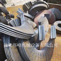 全网热销 大直径加厚螺旋叶片 连续绞龙叶片  碳钢叶片 实用耐磨