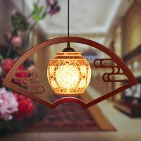 厂家批发 景德镇陶瓷灯具客厅卧室玄关餐厅单头阳台灯笼吊灯过