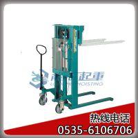 650kg手动液压堆高车 日本进口液压堆高车 全年质保 ?