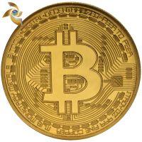 定做美国比特纪念币 金属外国硬币 虚拟纪念币 旅游纪念游戏币
