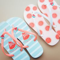麦和 冰冰凉PVC人字拖MHYB08-013简约可爱凉鞋防滑沙滩鞋凉拖鞋