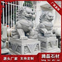汉白玉石雕狮子 石雕汉白玉狮子价格