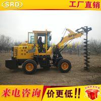 厂家直销装载机改钻洞机 铲车挖坑机 水泥杆挖坑机 液压式挖坑机