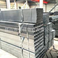 苏州厂家直销防腐性 冷镀锌方管 现货批发切割加工 方通质好价优