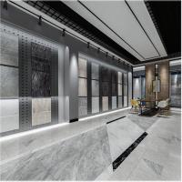 铁板冲孔板,瓷砖展示货架,陶瓷展厅展柜冲孔板