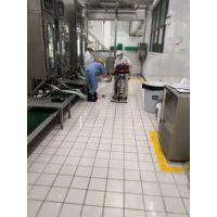 无线电瓶工业吸尘器 车间清洁工厂用吸尘器 车间吸粉尘推吸式吸尘器