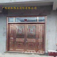 南宁工厂专业生产住宅楼进户门304不锈钢材质小区大门