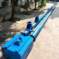 木屑粉管链输送机 耐用粉体料管链机