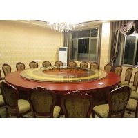生产酒店餐桌椅 电动大圆桌 电动玻璃餐桌 椭圆形电动餐桌直销