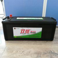 汽车电瓶 6-QW-180R(1200)正装,双岳免维护蓄电池