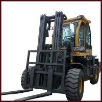 重庆乡村修建用四驱叉车3吨叉车多少钱一台中首重工