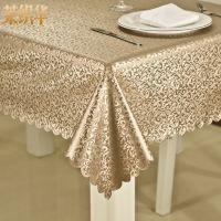 桌布防水塑料pu革餐厅长方形台布饭店防油免洗家用防烫餐桌布