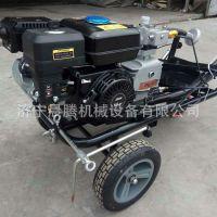 厂家直销冷喷划线机 手推式汽油划线车 小型斑马线画线