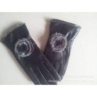真皮手套女士绵羊皮手套冬季防寒保暖皮手套厂家直销