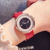 2018新款欢乐颂同款 时尚潮流皮带手表女水钻休闲大气装饰时装表