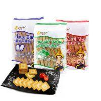 泰国进口休零食品 刷我的卡 鲜奶薄饼/蔬菜薄饼/起士薄饼208g